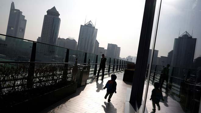 El PIB de China cumple con el objetivo oficial al crecer un 6,1 % en el 2019. En la foto, el distrito financiero de Beijing.