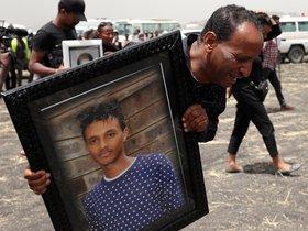 Retrato deYared Getachew, el piloto del avión deEthiopian Airlines.