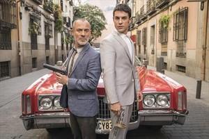 Javier Gutiérrez y Alejo Sauras, en Estoy vivo.