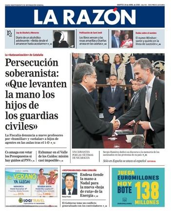 """'El Mundo' vende que en Catalunya """"la opresión"""" es como la de Euskadi con ETA"""