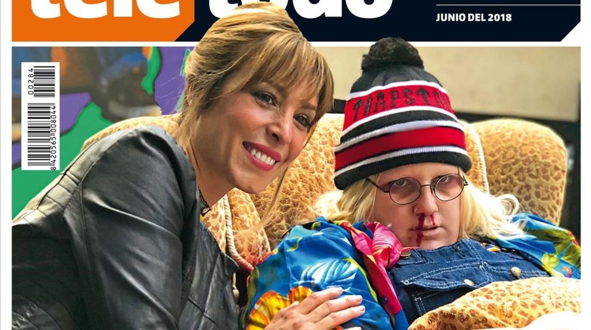 Portada de Teletodo protagonizada por Gisela Lladó y Esty Quesada (Soy una Pringada).