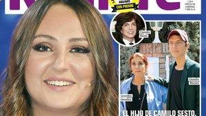 Rocío Flores Carrasco, en la portada de 'Rumore'.