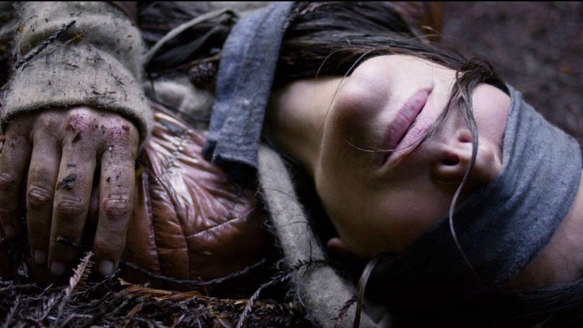Sandra Bullock, en un fotograma de A ciegas