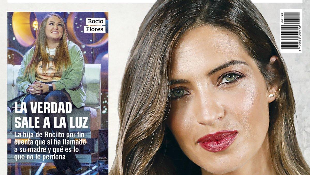 Sara Carbonero, en la portada de 'Rumore'.