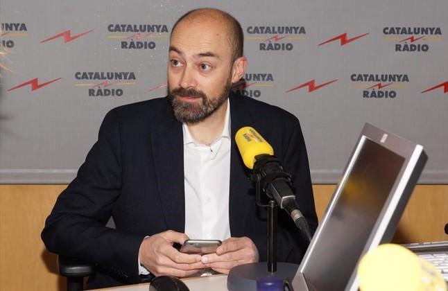 Saül Gordillo, director de Catalunya Ràdio.