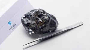 El segundo diamante más grande del mundo, de 1.758 quilates, descubierto en Botsuana.