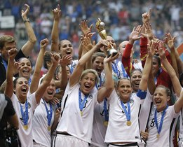 Estados Unidos se coronó campeón del mundial femenino de fútbol en el certamen celebrado en Francia.