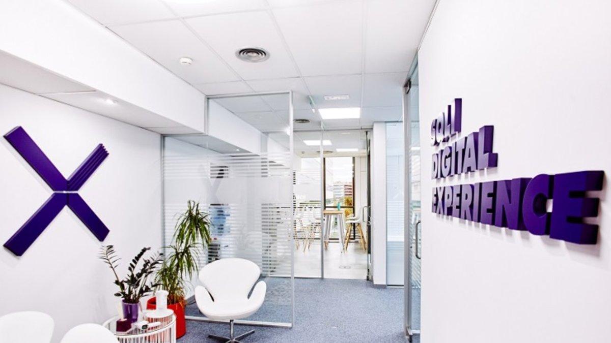 Las oficinas de la empresa SQLI en Sant Just Desvern (Baix Llobregat).