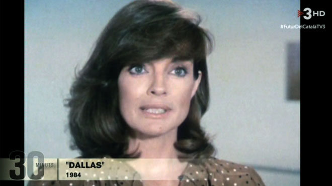 Sue Ellen, el 'pendó' de 'Dallas'.