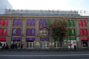 El Teatro Circo Price en Madrid.
