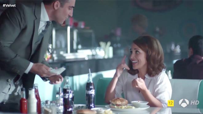Vídeo en elque se recogen algunas de las principales apariciones de la marca Coca-Cola en la serie de Antena 3 Velvet.