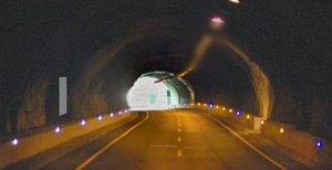 Túnel de Terradelles, donde se ha producido el desprendimiento.