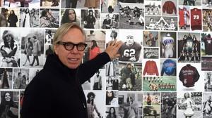 Tommy Hilfiger, en su estudio de Nueva York, en una imagen del 2015.