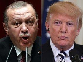 El president de Turquía, Recep TayyibErdogan, izquierda, y de EEUU, Donald Trump.