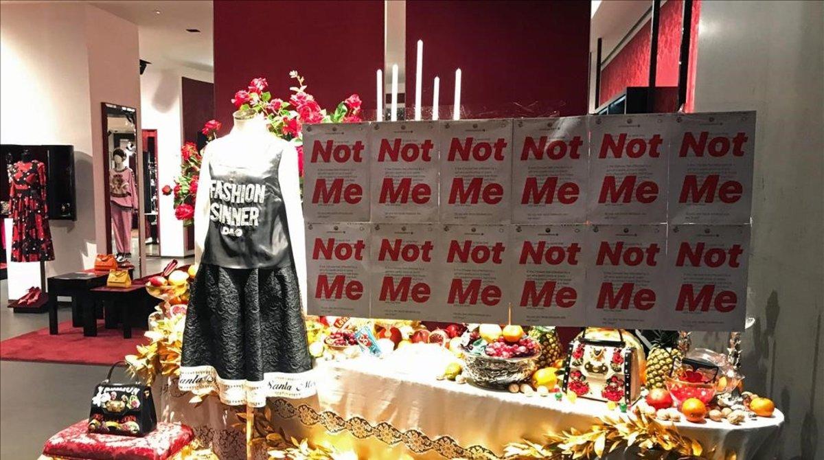 Una tienda de Dolce & Gabbana en Shanghai.