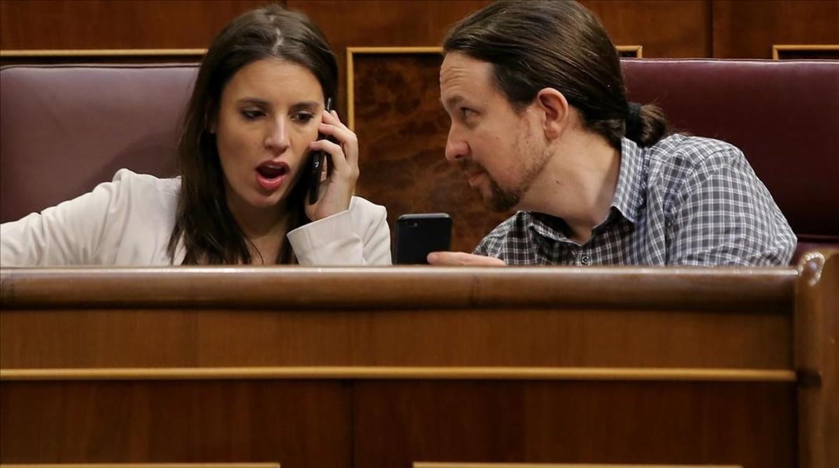 Iglesias i Montero salven la crisi del xalet però perden suports