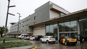 El Hospital de Sant Pau, donde no se realizan abortos, sino solo interrupciones médicas del embarazo.