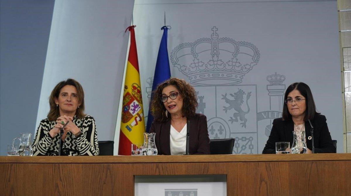 María Jesús Montero: «El pin parental no té res a veure amb la llibertat»