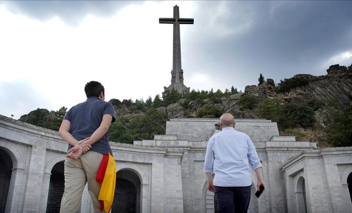 Una imagen del Valle de los Caídos.