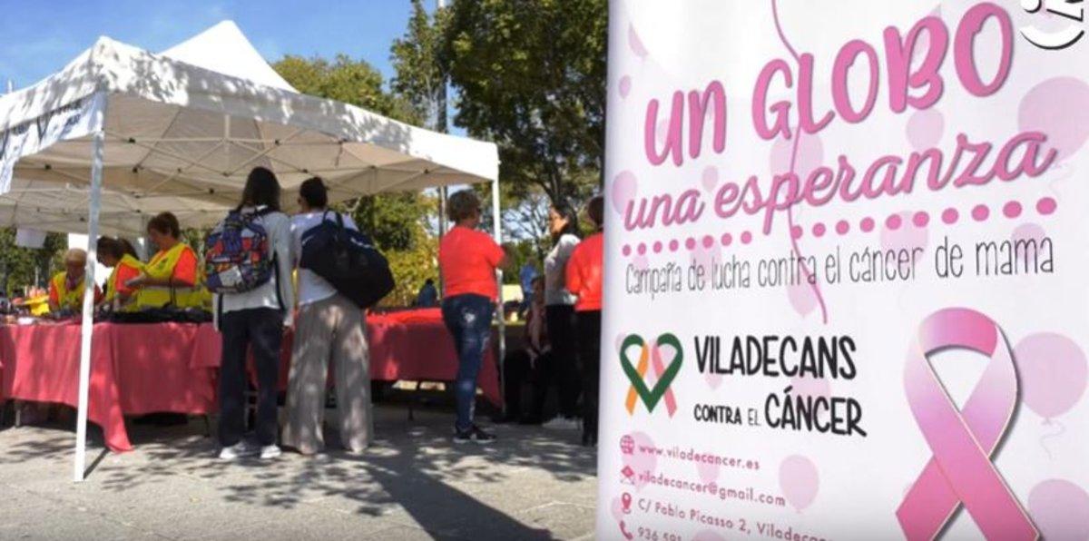 Prop de 1.000 persones marxen a Viladecans per lluitar contra el càncer i impulsar-ne la investigació