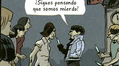Gabi Beltrán retrata en un cómic su sórdida juventud