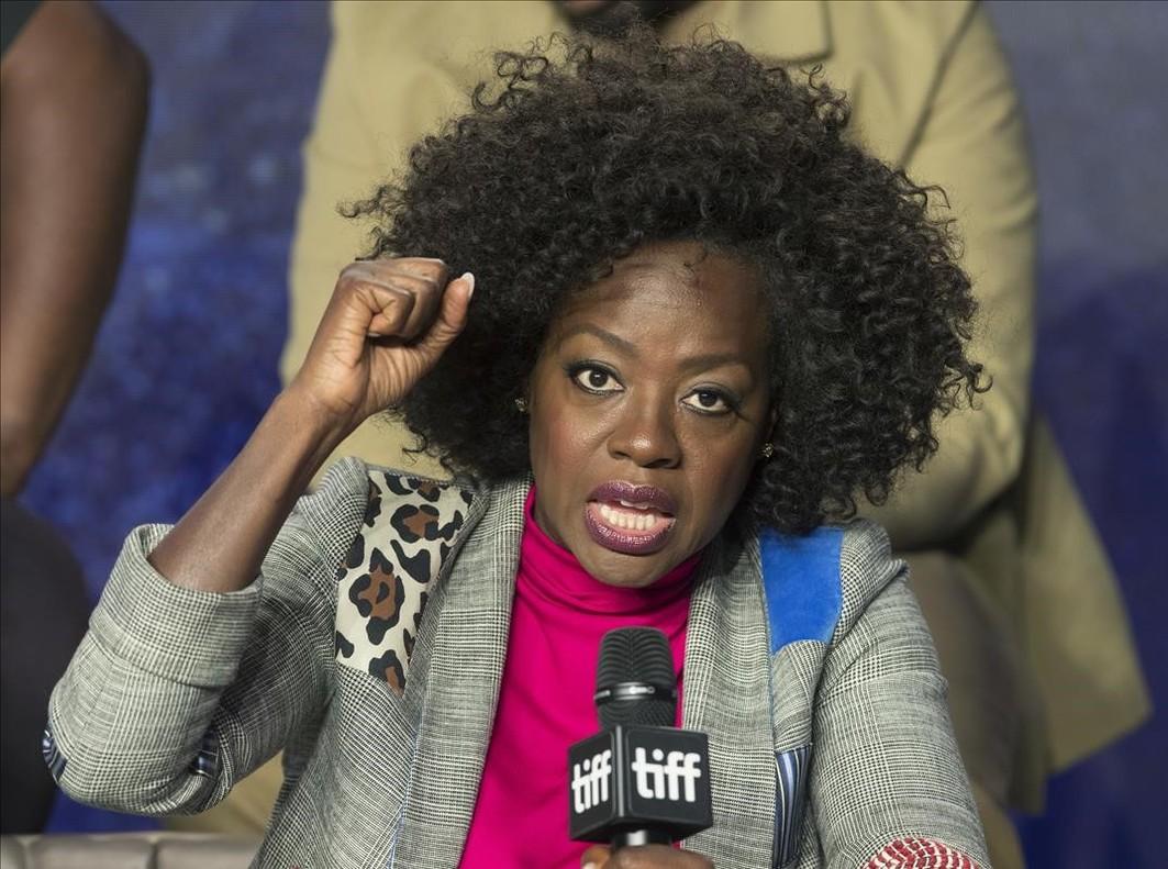 Viola Davis atiende a los medios en el Festival de cine de Toronto, el pasado 9 de septiembre.