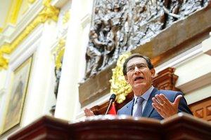 Vizcarra fue destituido como presidente de Perú.