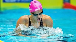 Yulia Efimova, campeona mundial en braza.