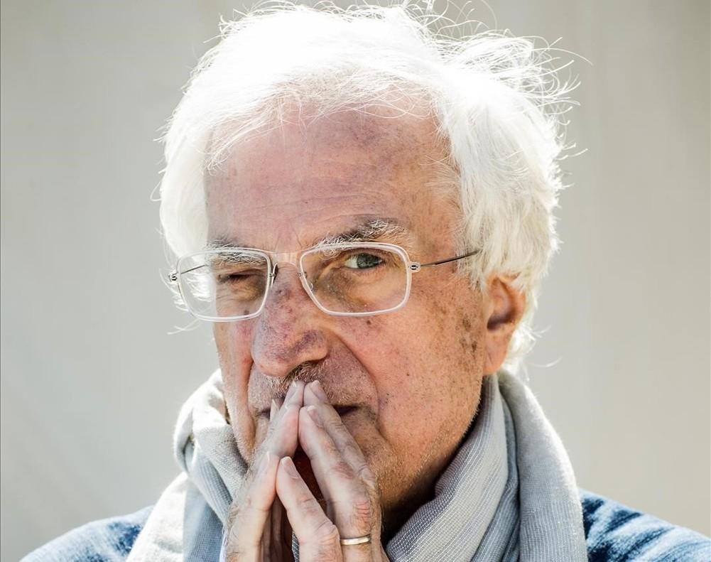 El director de cine francés Bertrand Tavernier.
