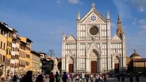 Mor un turista espanyol al desplomar-se una pedra en una basílica a Florència