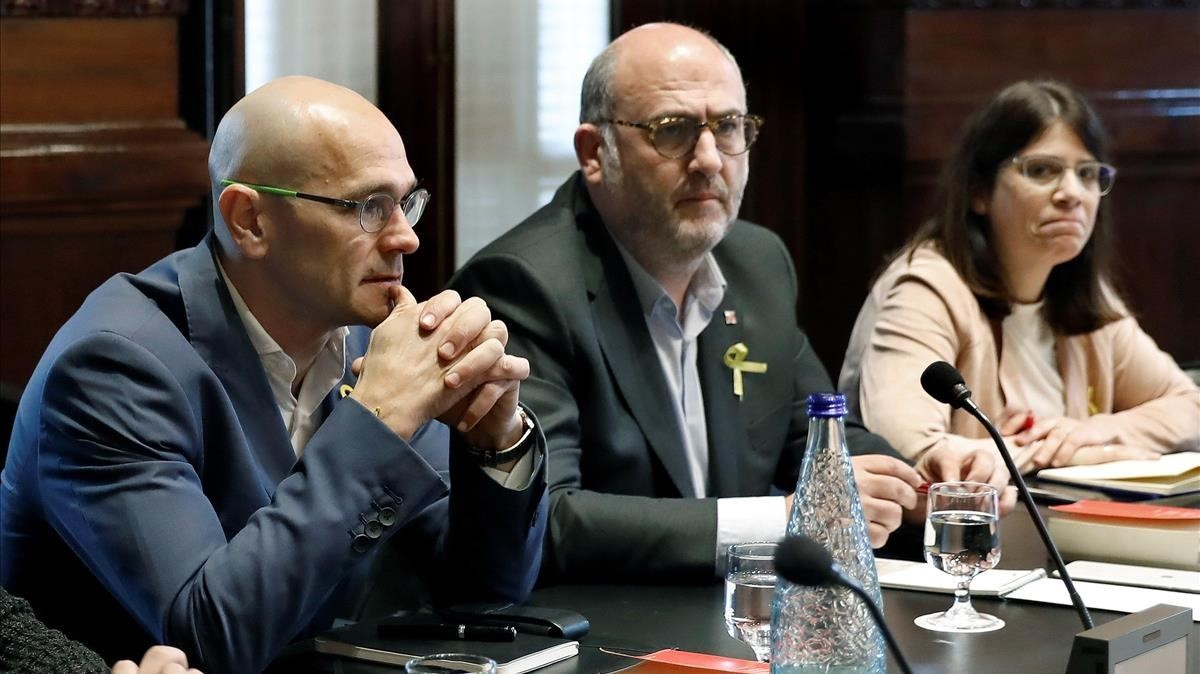 L'acord d'investidura frustrat de JxCat i ERC amb la CUP