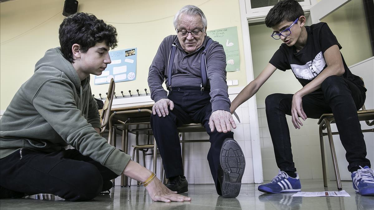Cuando los jóvenes entrenan a los mayores