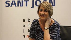 Gemma Lienas, ganadora del Premi Sant Joan 2018.