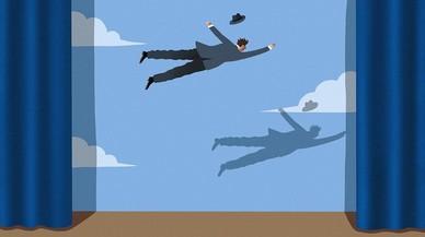 Gente que hace volar
