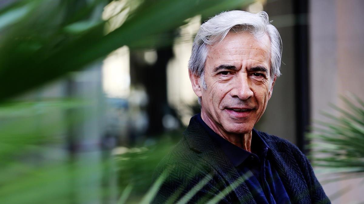 El actor Imanol Arias, en Barcelona.