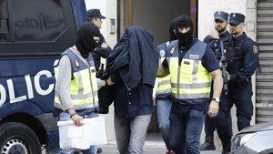 Detenidos en València por difundir ideario yihadista.