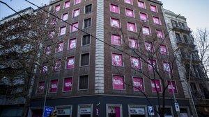 Els trasters s'apoderen dels baixos de Barcelona