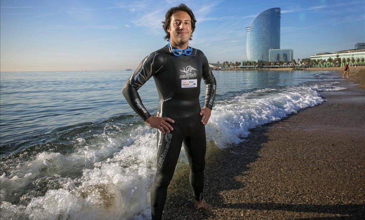 """Marc Guitart: """"Nedaré 32 quilòmetres pensant a no fallar a Sant Joan de Déu"""""""