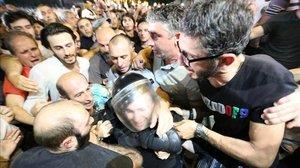 Geòrgia se sumeix en el caos després d'una greu jornada de protestes de carrer