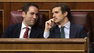 El PP i Cs es preparen per aguantar la pressió de l'abstenció