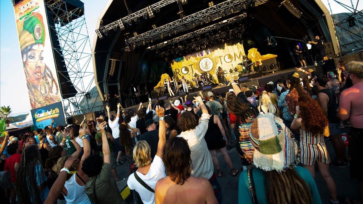 The Abyssinians en elRototom Sunsplash European Reggae Festival.
