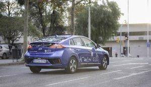 El coche eléctrico de Avancar.