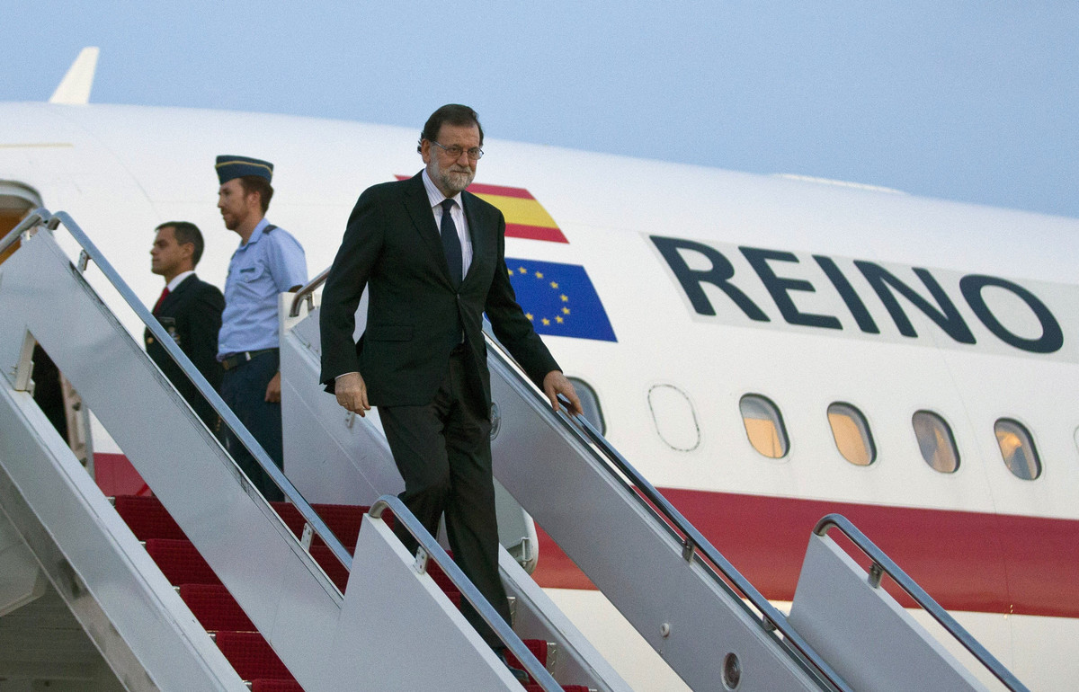 Rajoy llega a Washington para entrevistarse con Donald Trump