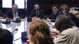 JxCat registra en solitari la proposta de resolució per restituir Puigdemont (CA)
