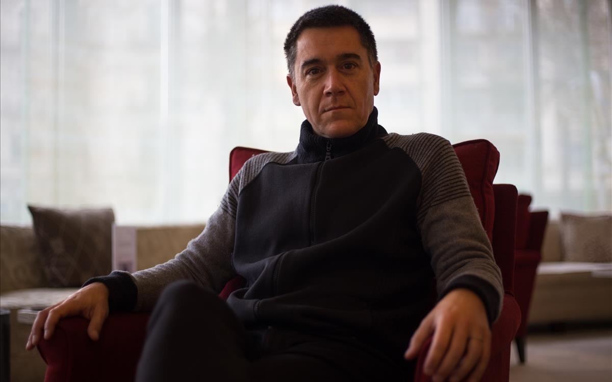 El escritor y periodista Martí Gironell, esta semana en Barcelona.