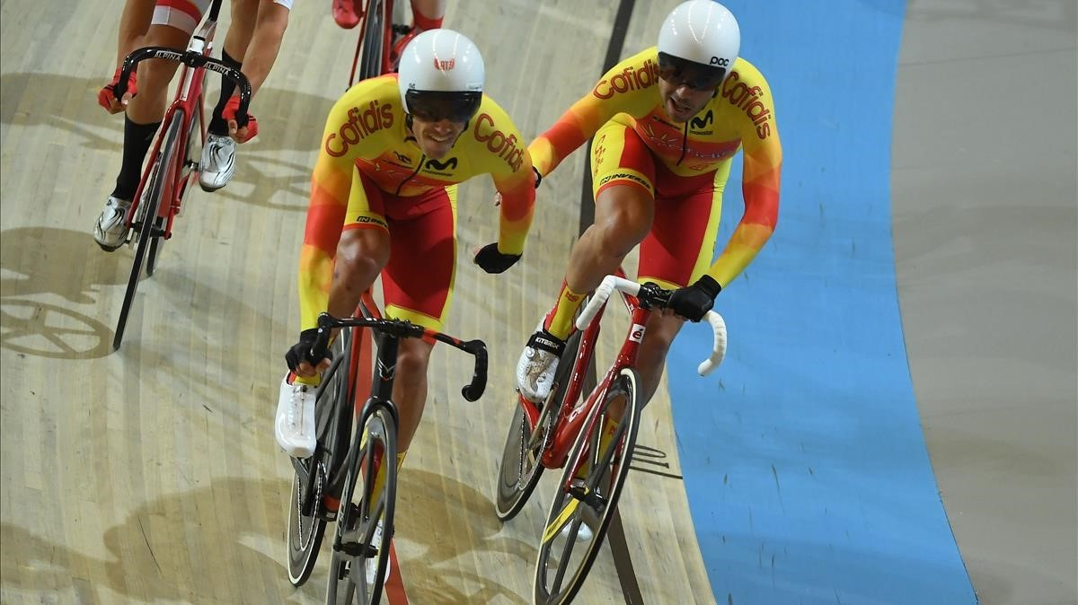 jcarmengol42391201 spain s cycling team relay during the men s madison final du180304163339