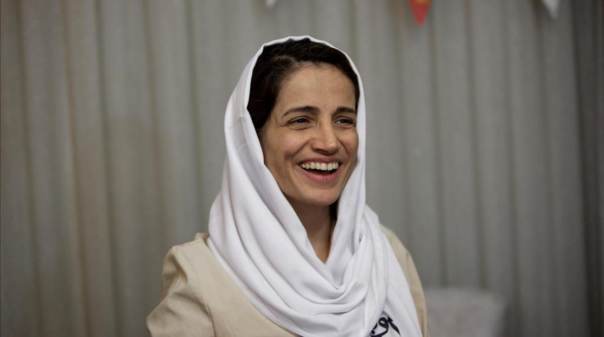 La abogada Nasrin Sotoudeh en una imagen de archivo.