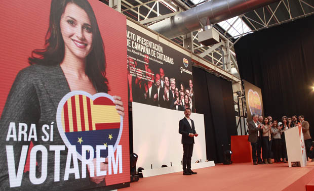 Rivera equipara Puigdemont amb Le Pen i lacusa de voler destruir la UE.