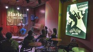 Actuación de Coqui Ortiz en el Harlem Jazz Club