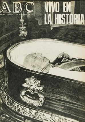 40 aniversario de la muerte de Franco. Portadas de prensa.